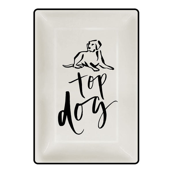 Chelsea Petaja Top Dog 4 x 6 in. Trinket Tray