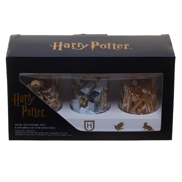 Harry Potter Glass Jar Set with Accessories & Base