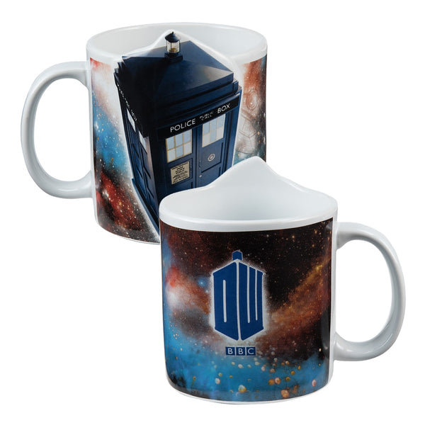 Doctor Who Tardis 20 oz. Bas Relief Ceramic Mug