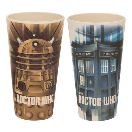 Doctor Who 4 pc. 8 in. Ceramic Plate Set