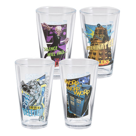 Star Wars Solo 2 pc. 16 oz. Laser Decal Glass Set