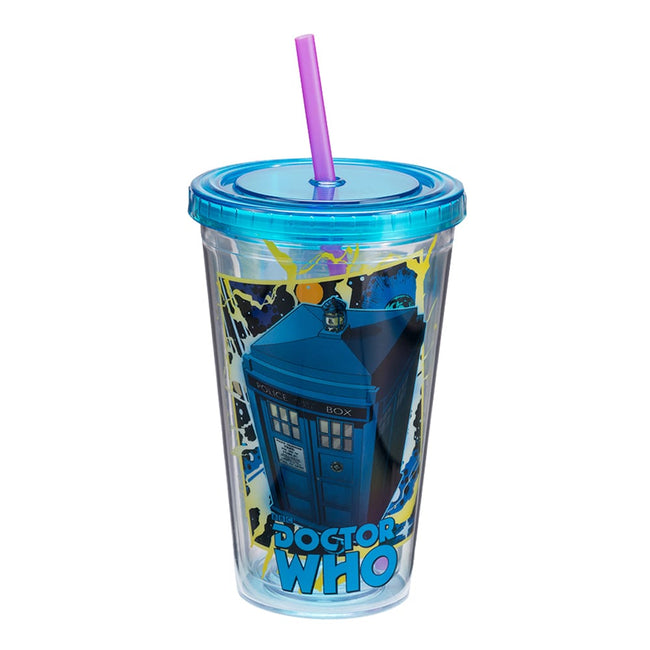 Doctor Who 16 oz. Acrylic Travel Cup