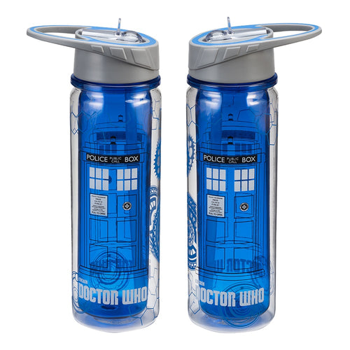 Doctor Who TARDIS 16 oz. Tritan Water Bottle