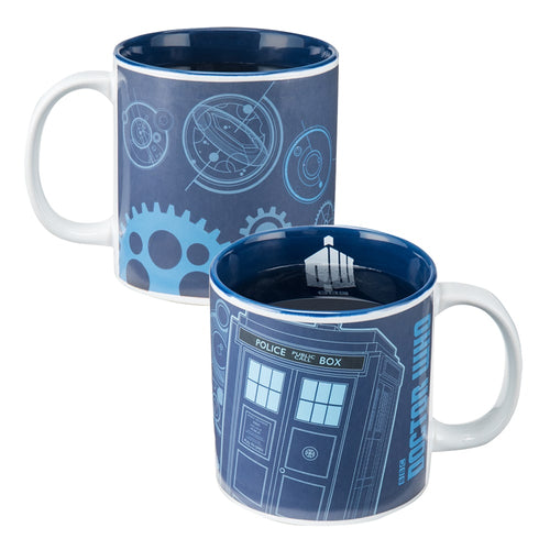 Doctor Who 20 oz. Heat Reactive Ceramic Mug
