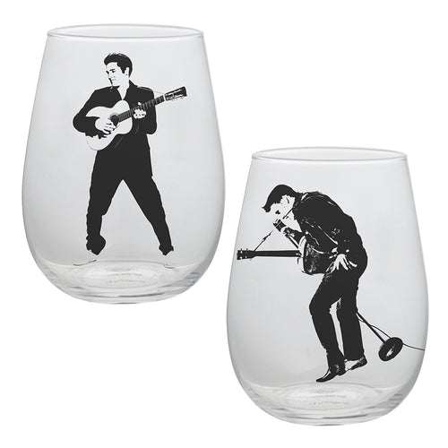 Elvis Presley Contour Glasses - Set of 2