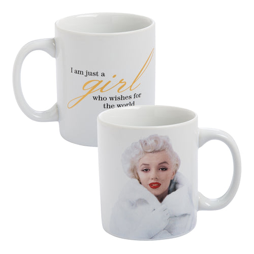 marilyn monroe wonderful 12 oz ceramic mug