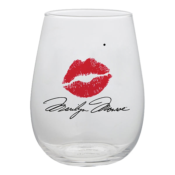 Marilyn Monroe 18 oz. Contour Glasses - Set of 2