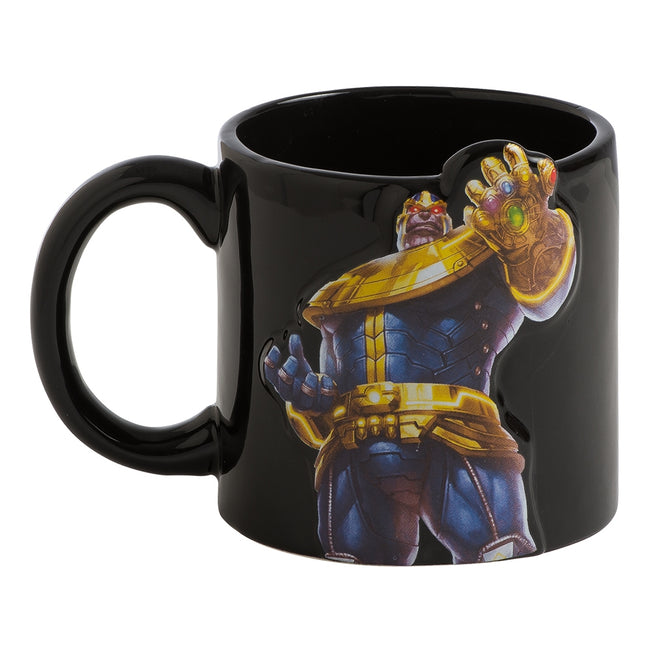 Marvel Thanos 20 oz. Bas Relief Ceramic Mug