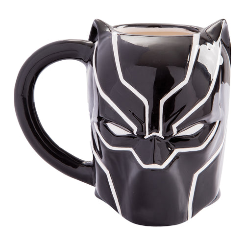 Marvel Black Panther 20 oz. Sculpted Ceramic Mug