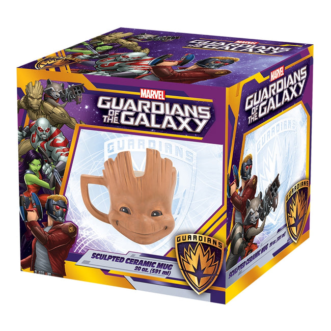 Marvel GOTG Little Groot 20 oz. Sculpted Ceramic Mug