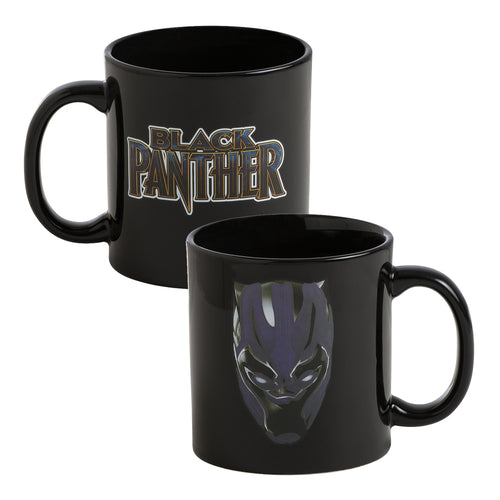 Marvel Black Panther 20 oz. Heat Reactive Ceramic Mug