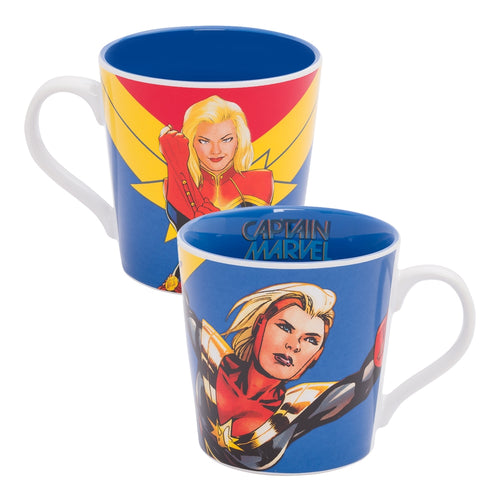 Marvel Captain Marvel 12 oz. Ceramic Mug