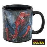 Marvel Spider-Man 20 oz. Heat Reactive Mug