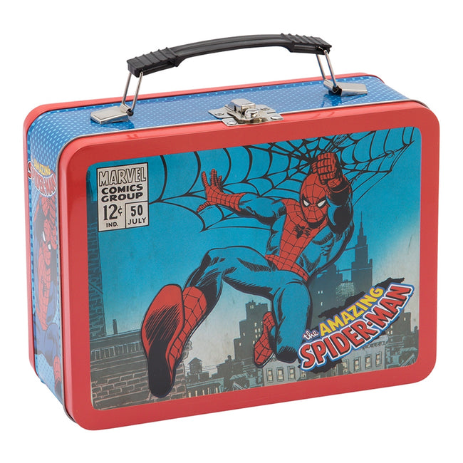 Marvel Spider-Man Large Tin Tote