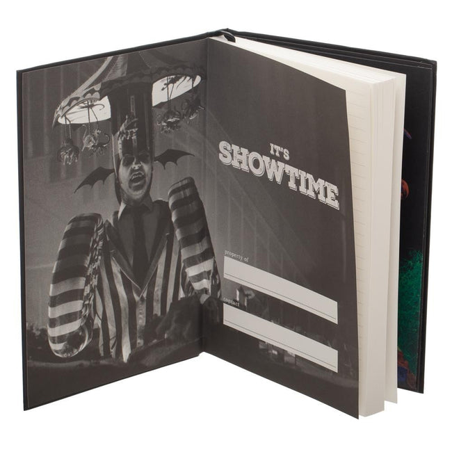 Beetlejuice Hardcover Journal