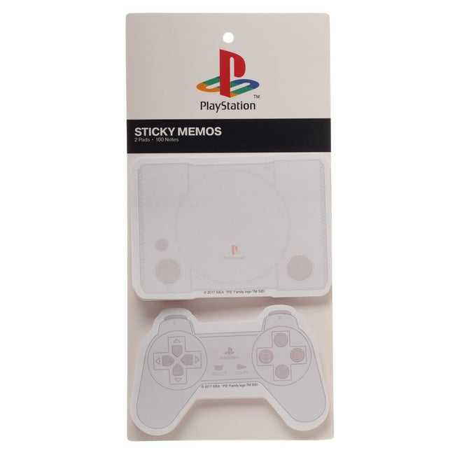PlayStation Sticky Notes - Set of 2