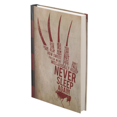 Nightmare on Elm Street Hardcover Journal