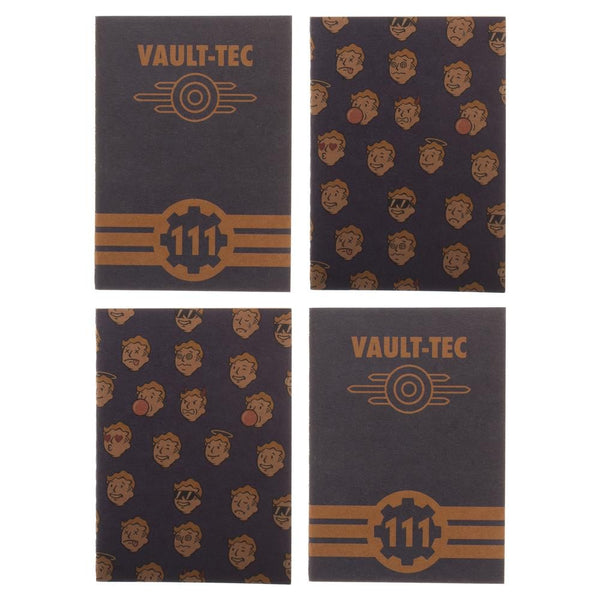 Fallout Pocket Journals - Set of 4