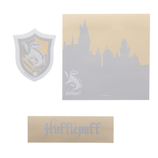 Harry Potter Hufflepuff Sticky Notes - Set of 3