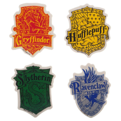 Harry Potter Shaped Erasers - Set of 4