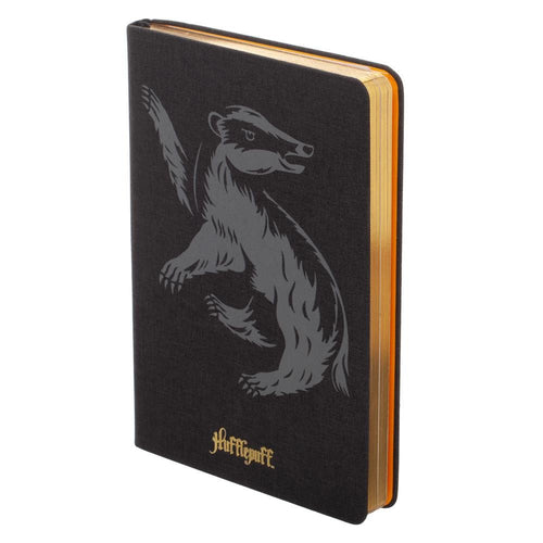 Harry Potter Hufflepuff Felt Hardcover Journal