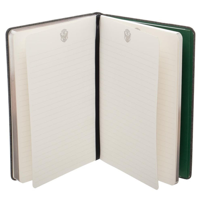 Harry Potter Slytherin Felt Hardcover Journal