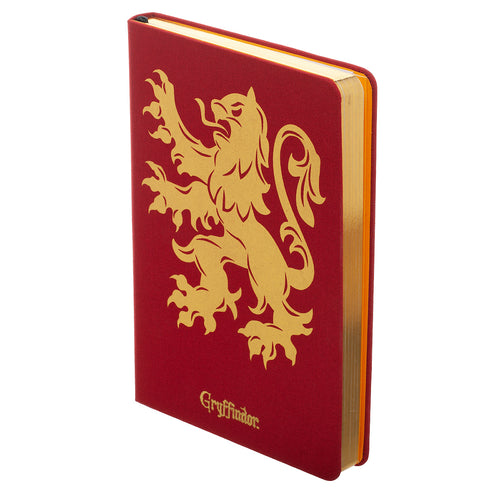 Harry Potter Gryffindor Felt Hardcover Journal