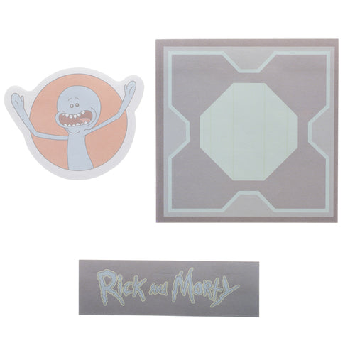 Rick & Morty Sticky Notes - Set of 3