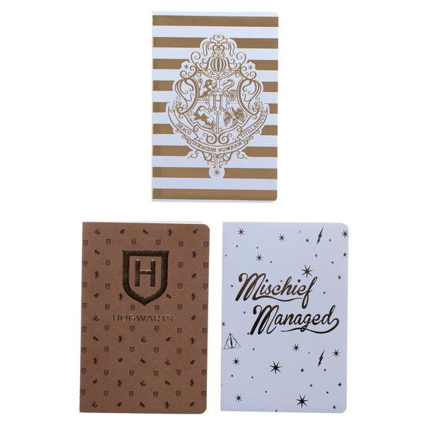 Harry Potter Softcover Journals - Set of 3