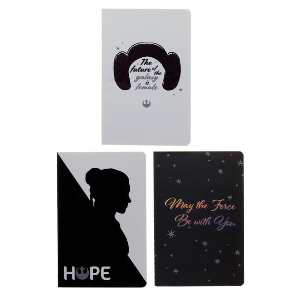 Star Wars Princess Leia Softcover Journals - Set of 3