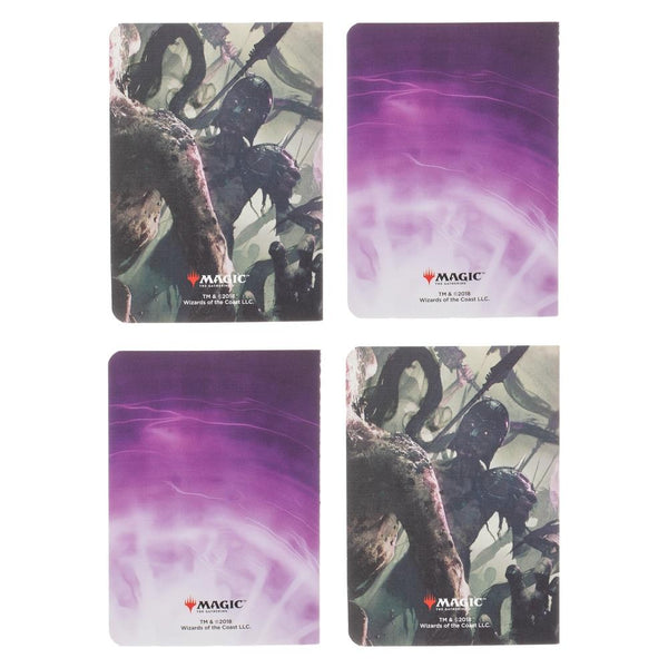 Magic the Gathering Liliana Vess Pocket Journals - Set of 4