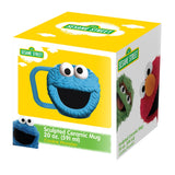 Sesame Street Cookie Monster 20 oz. Sculpted Ceramic Mug
