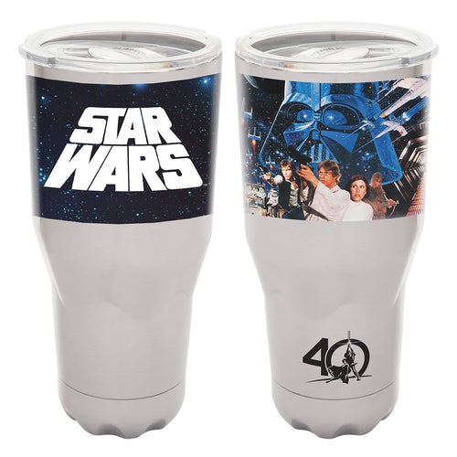 Star Wars A New Hope 40th Anniversary 30 oz. Vacuum Insulated Stainless Steel Tumbler