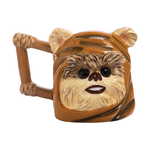 Star Wars Ewok 20 oz. Ceramic Sculpted Mug