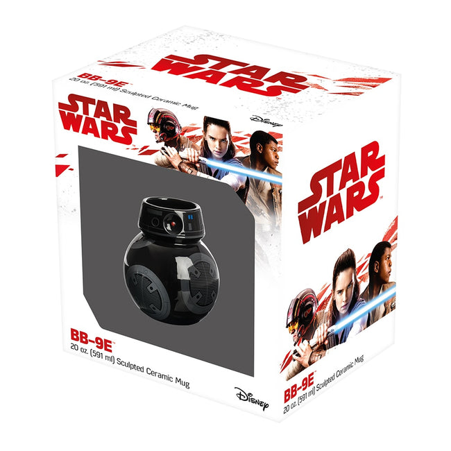 Star Wars The Last Jedi BB-9E Premium 20 oz. Sculpted Ceramic Mug