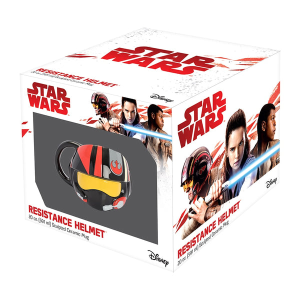 Star Wars The Last Jedi Resistance Helmet Premium 20 oz. Sculpted Ceramic Mug