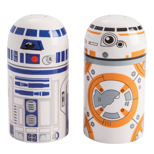 Star Wars BB-8 & R2D2 Sculpted Salt & Pepper Set