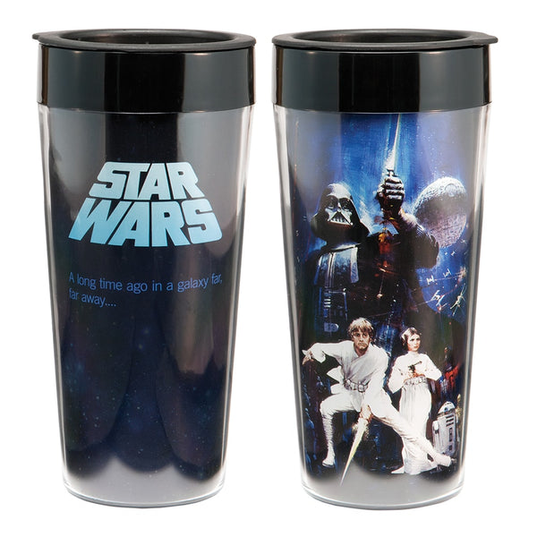 Star Wars 16 oz. Plastic Travel Mug