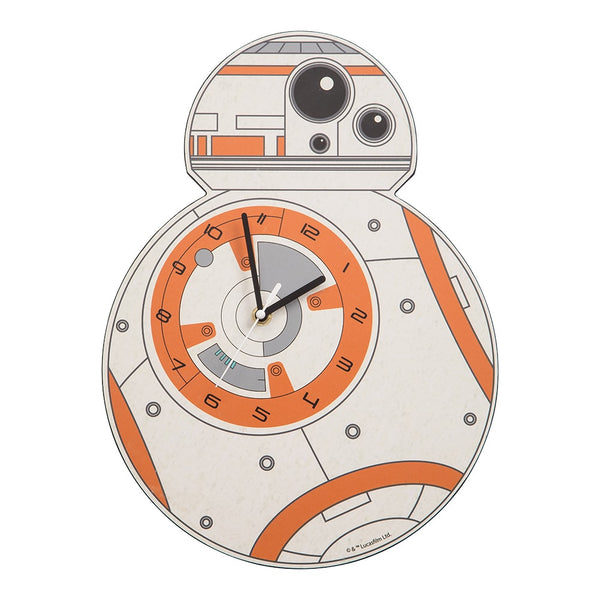Star Wars BB-8 Shaped Deco Clock