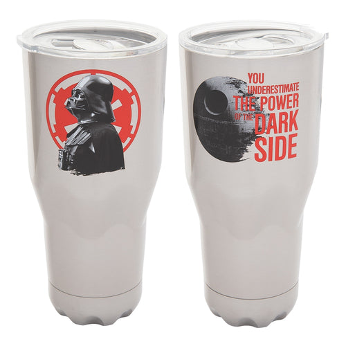 Star Wars Dark Side 30 oz. Stainless Steel Vacuum Tumbler