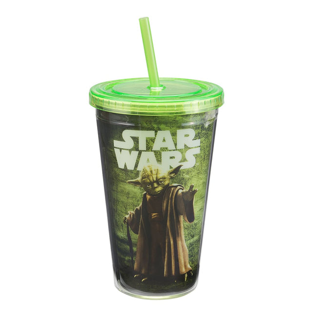 Star Wars Yoda 16 oz. Acrylic Travel Cup