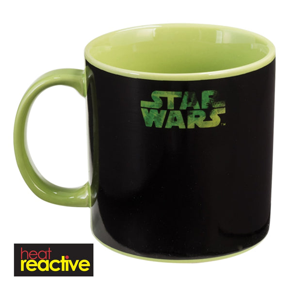 Star Wars Yoda 20 oz. Heat Reactive Ceramic Mug