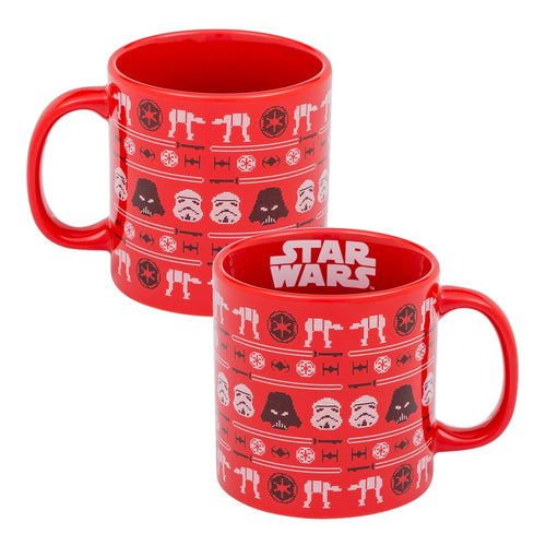 Star Wars Dark Side Ugly Sweater 20 oz. Ceramic Mug