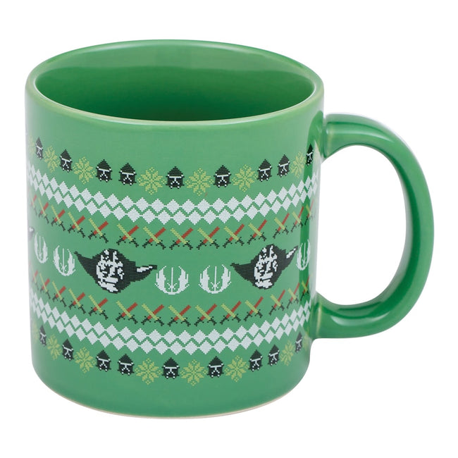 Star Wars Light Side Ugly Sweater 20 oz. Ceramic Mug