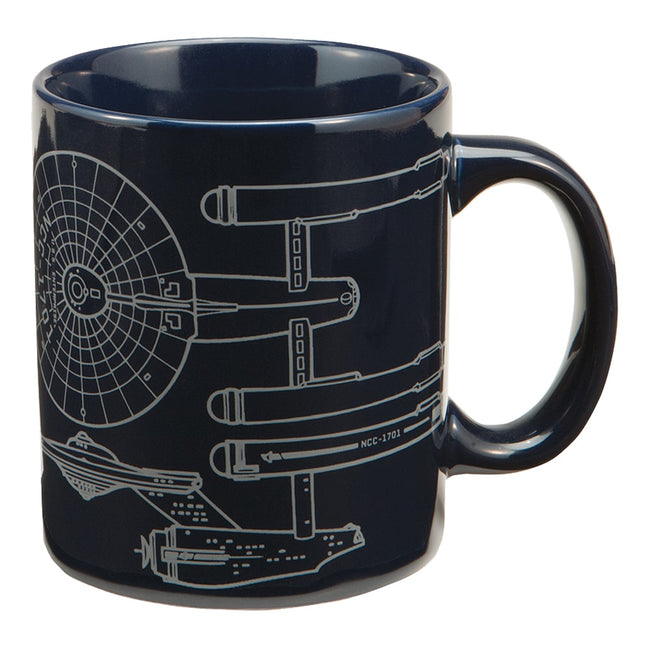 Star Trek Enterprise 12 oz. Ceramic Mug