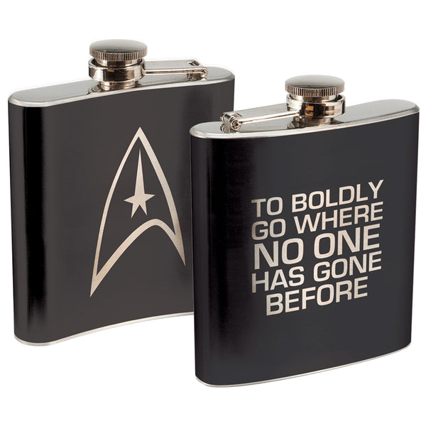 Star Trek 6 oz. Stainless Steel Flask