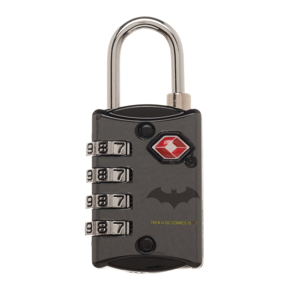 DC Comics Batman Travel Combination Lock