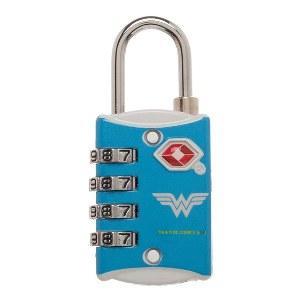 DC Comics Wonder Woman Travel Combination Lock