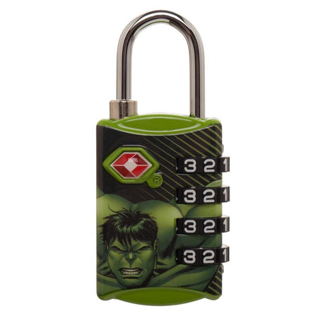 Marvel Captain America Travel Combination Lock