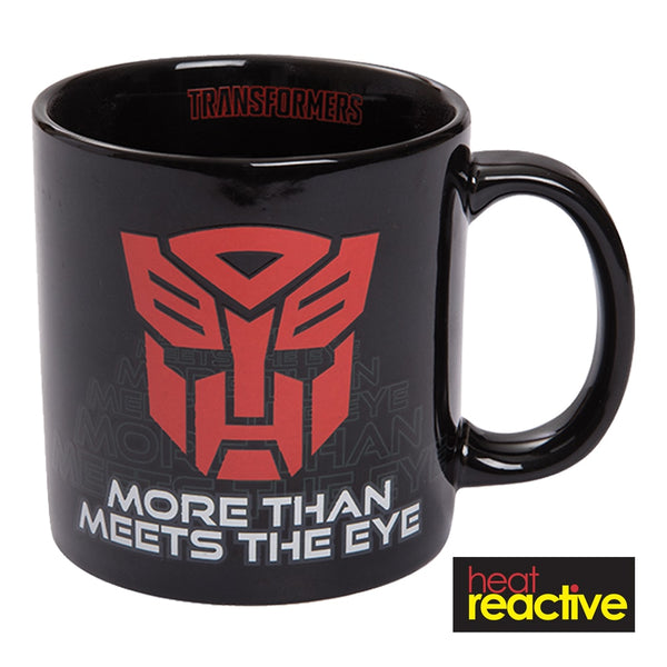 Transformers 20 oz. Heat Reactive Ceramic Mug